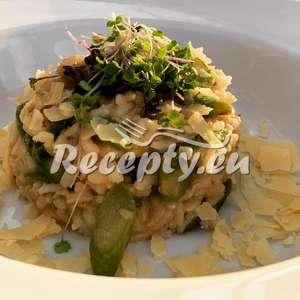 Jarní chřestové rizoto