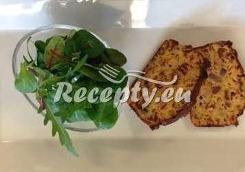 Sýrový chlebíček s chřestem Recepty z bílého a zeleného chřestu